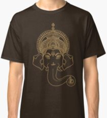 The Face Of Lord Ganesh Classic T-Shirt