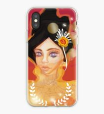 Vinilo o funda para iPhone Honey Combs in my Eyes girl por Logan Artisan