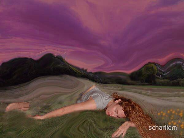 nature sleep by scharliem