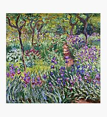Claude Monet - The Artist S Garden In Giverny 1900 Photographic Print