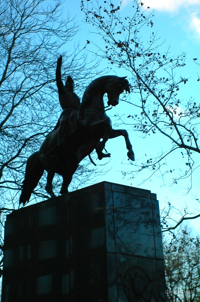 Statue Jose de San Martin by daydremr