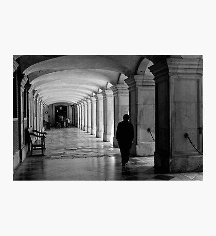 Pacing the cloister - Hampton Court Palace - London UK Photographic Print