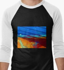Rusty grunge aged steel iron paint background T-Shirt