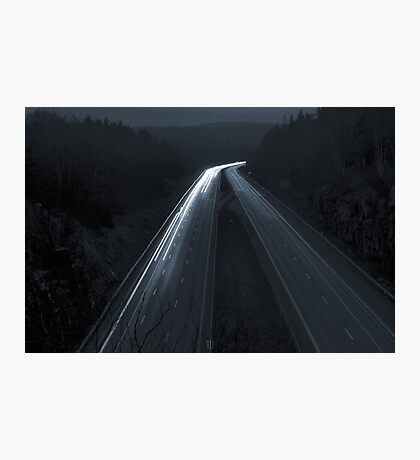 Autobahn Photographic Print