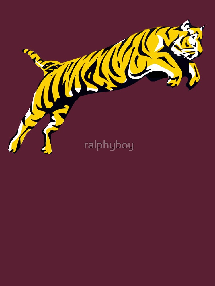 leaping tiger by ralphyboy
