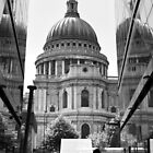 Together - St Pauls Cathedral London - UK by Norman Repacholi