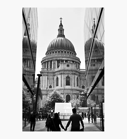 Together - St Pauls Cathedral London - UK Photographic Print