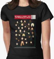 orphan black Women's Fitted T-Shirt