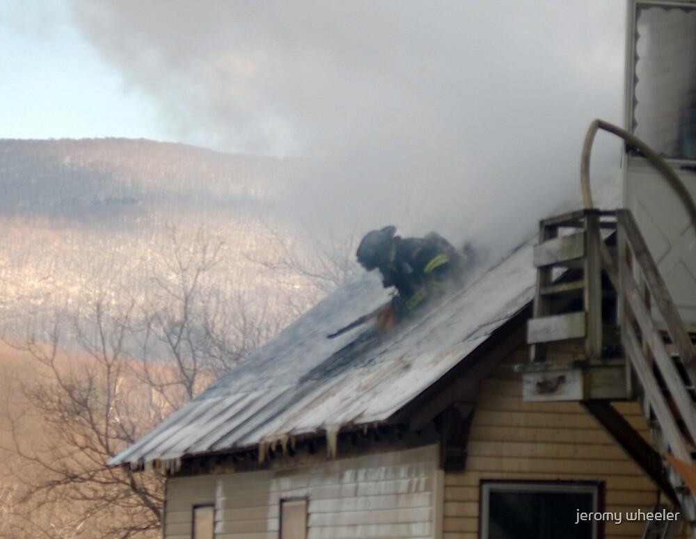 firefighter by jeromy wheeler