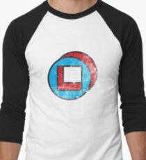 Square in Circle - Legion chapter 2 Men's Baseball ¾ T-Shirt
