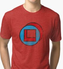 Square in Circle - Legion chapter 2 Tri-blend T-Shirt