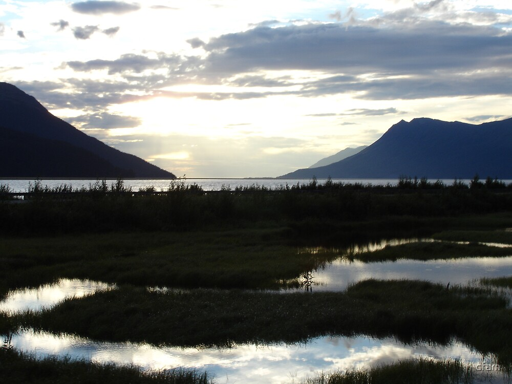 Alaska Sunset 2 by cfam