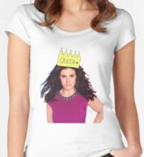 Queen Idina Women's Fitted Scoop T-Shirt