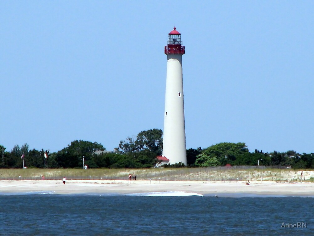 Cape May Lighthouse by AnneRN