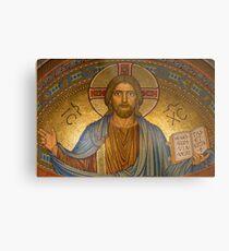 Jesus Christ Mosaic Easter Gift Metal Print