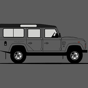 A Graphical Interpretation of the Defender 110 Station Wagon G-Star Raw Edition by 3pedaldriving