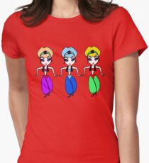 genie genie genie Women's Fitted T-Shirt