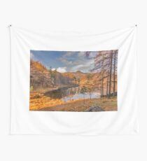 Autumn at Blea Tarn Wall Tapestry