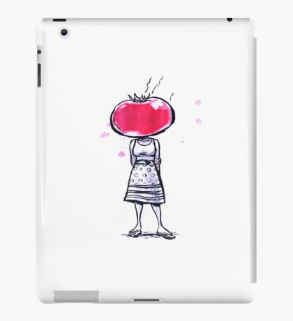 Tomato Face iPad Case/Skin
