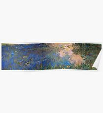 Claude Monet - The Water Lily Pond  1914  Poster