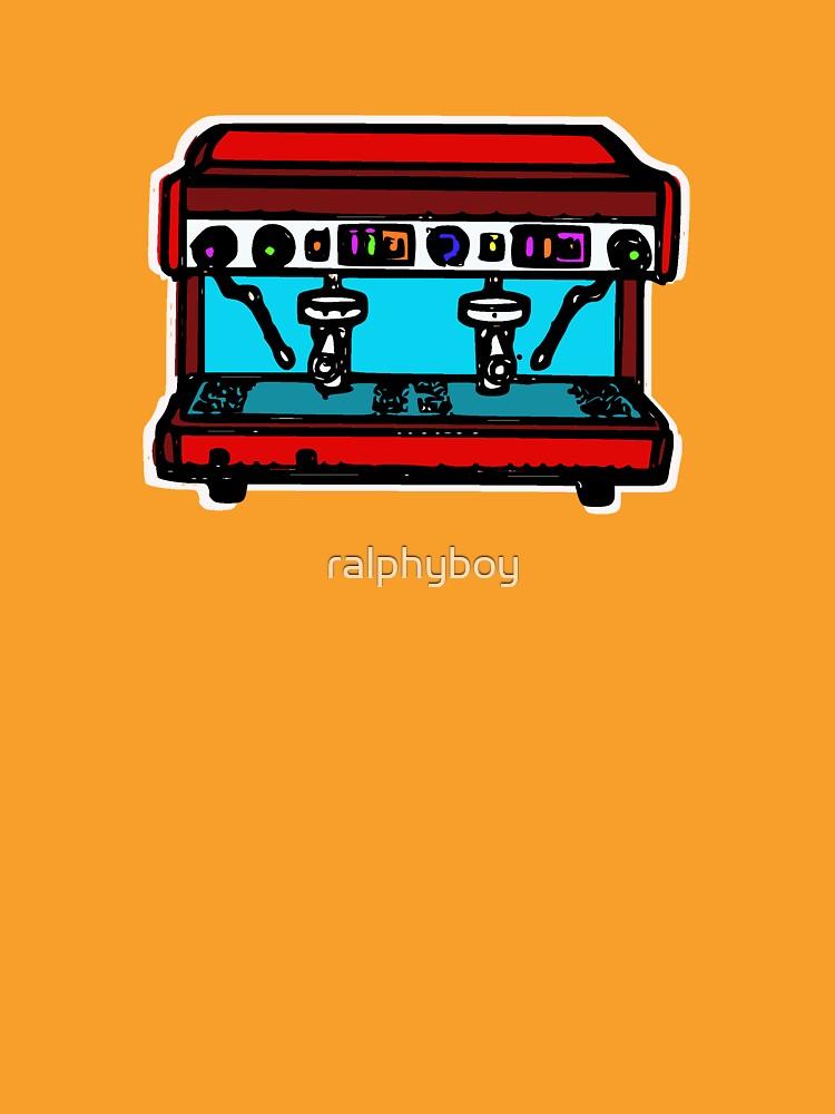 coffee machine by ralphyboy