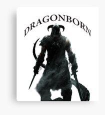 Skyrim - Dragonborn Canvas Print