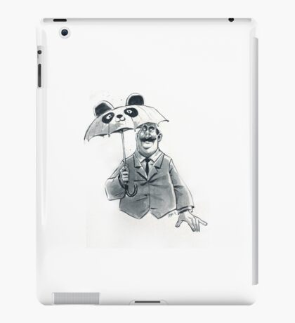 Rainy Day Panda iPad Case/Skin