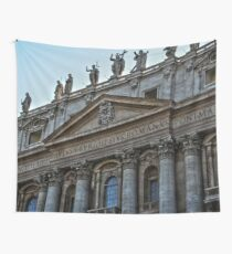 Vatican City - Michelangelo - Rome Travel Italy - vintage wall tapestry Wall Tapestry