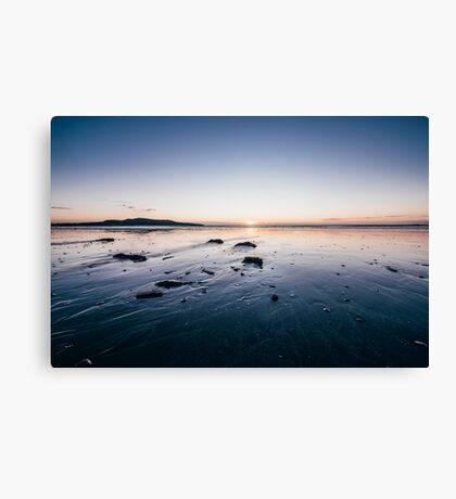 Sunrise at Bull Island, Dublin Canvas Print