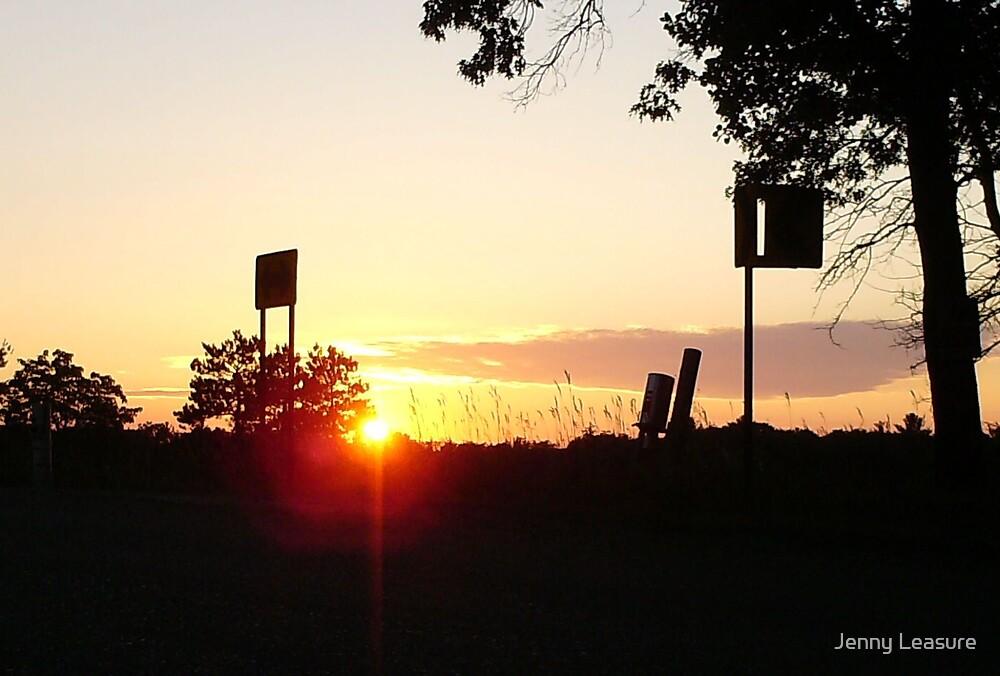 Sunset by Jenny Leasure
