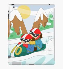 Winter Sports: Bobsleigh iPad Case/Skin