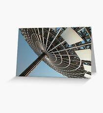 Urban Sculpture Greeting Card