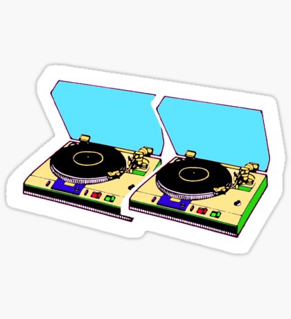 retro music Sticker