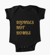 Flight of the Conchords Blondes Not Bombs Kids Clothes