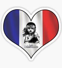Les Mis Love Sticker
