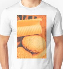Delicious cookies with piece of butter Unisex T-Shirt