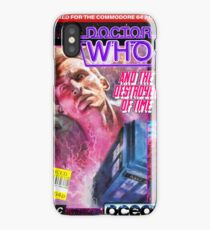 9th Doctor Commodore 64 Video Game Cover! iPhone Case/Skin