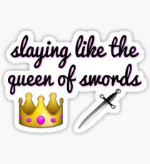Idina Menzel - Queen of Swords Sticker