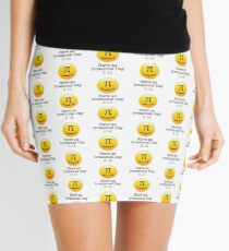 Have an irrational day ! 3.14 pi Mini Skirt