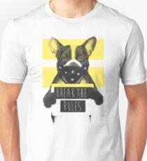 Rebel dog (yellow) T-Shirt