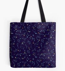 Constellation Night Sky - Astronomie Astrologie Sterne Sonnensystem Tote Bag