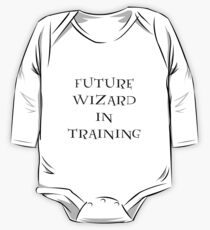 Future Wizard in Training One Piece - Long Sleeve