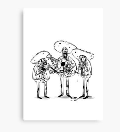 Mariachi Band  Canvas Print