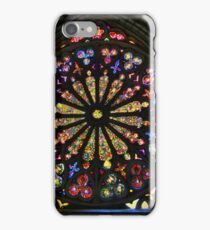 Stained Glass In Old Quito Ecuador Basilica iPhone Case/Skin