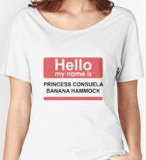 Hello my name is princess Women's Relaxed Fit T-Shirt