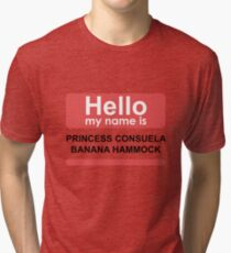 Hello my name is princess Tri-blend T-Shirt