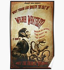 Wilbur Whateley Sideshow Poster