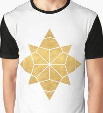 STAR SHAPE sacred geometry Graphic T-Shirt
