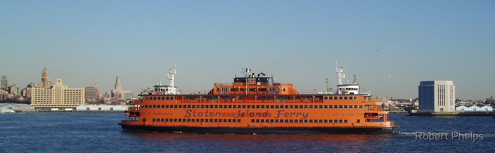 Staten Island Ferry by Robert Phelps
