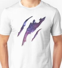 Space Torn Effect T-Shirt